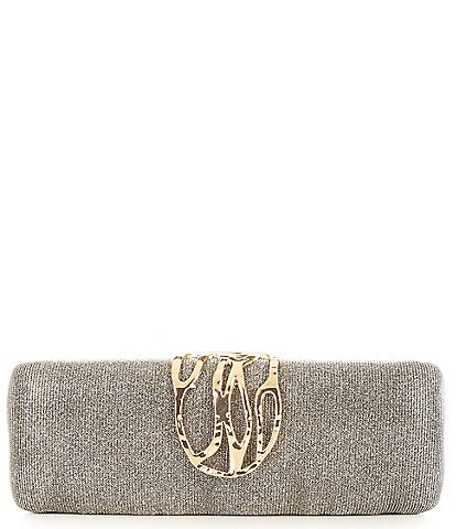 Kate Landry Hammered Hinge Minaudiere Bag