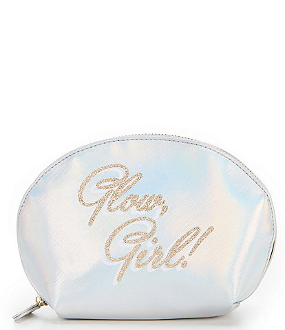 Kate Landry Printed Dome Cosmetic Case