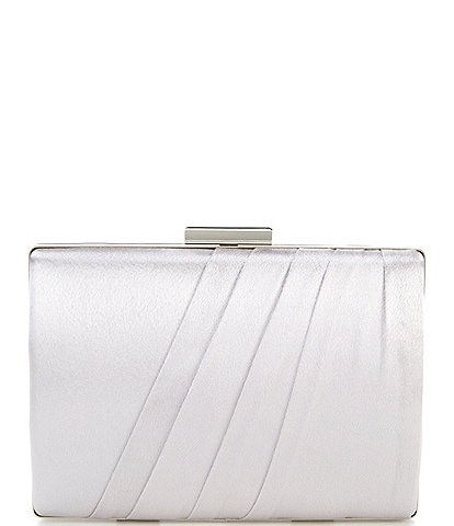 Kate Landry Satin Soft Ruched Minaudiere