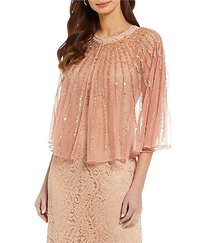 Kate Landry Sequin Caplet