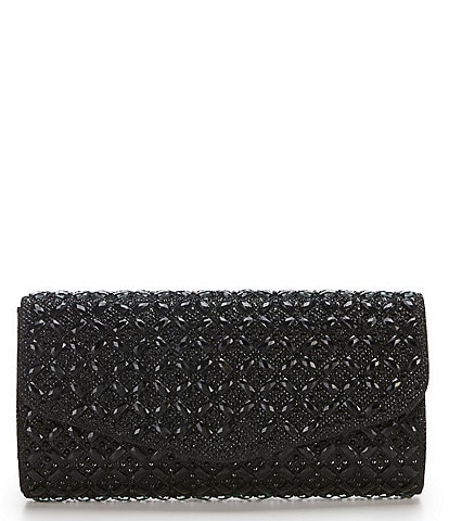 Kate Landry Stone Encrusted Clutch