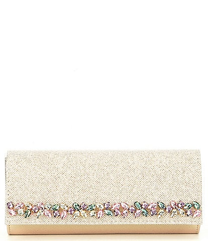 Kate Landry Stone Trim Clutch