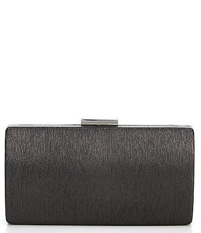 Kate Landry Textured Metallic Minaudiere