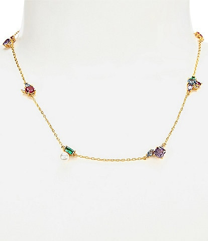 kate spade new york Little Gems Delicate Necklace