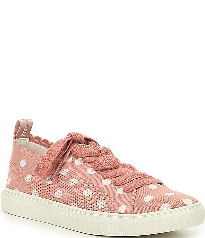 kate spade new york Abbie Dot Knit Lace-Up Sneakers