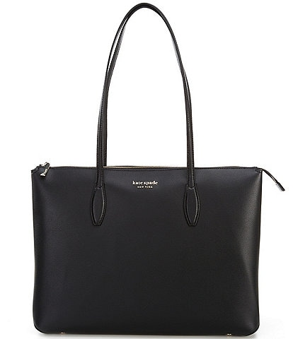 kate spade new york All Day Large Leather Zip Top Tote Bag