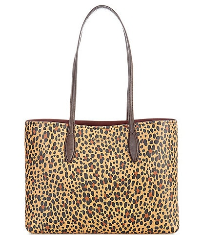 kate spade new york All Day Layers Leopard Large Tote Bag