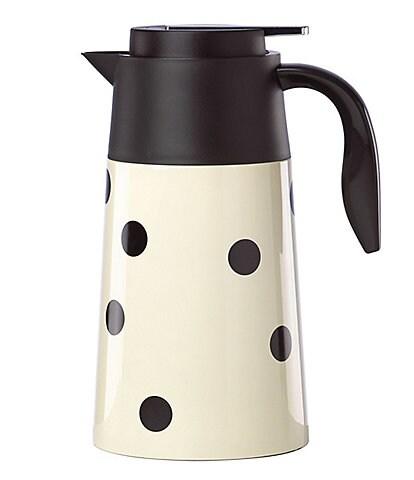 kate spade new york All in Good Taste Deco Dot Hot Beverage Carafe