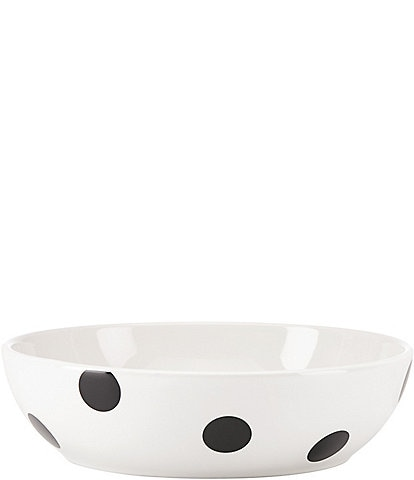kate spade new york All in Good Taste Deco Dot Stoneware Pasta Bowl