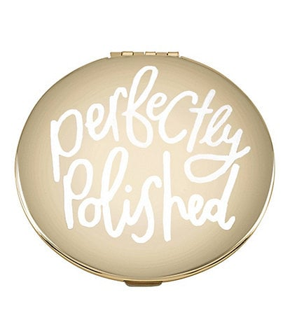 kate spade new york All That Glistens #double;Perfectly Polished#double; Compact