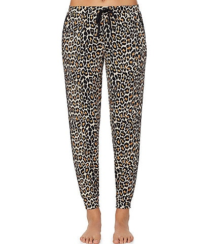 kate spade new york Animal Print Sweater Knit Jogger Pants
