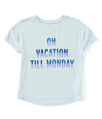 kate spade new york Big Girls 7-14 On Vacation Graphic Tee