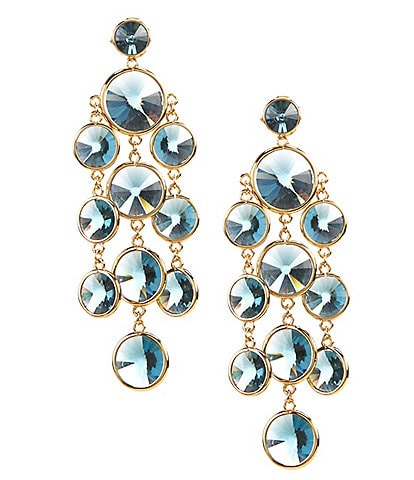 kate spade new york Blue Stone Chandelier Earrings