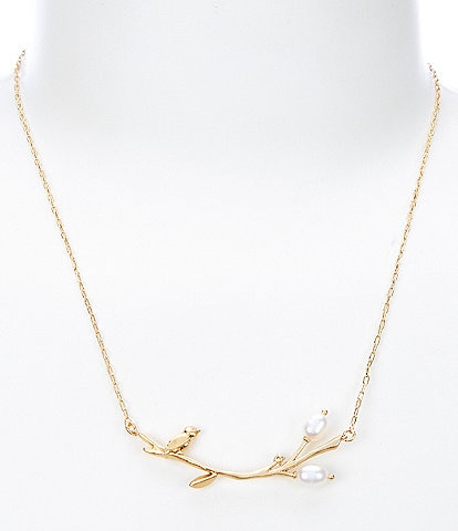 kate spade new york Brilliant Branches Necklace
