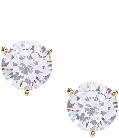 kate spade new york Brilliant Statement Trio Prong Stud Earrings