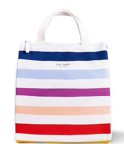 kate spade new york Candy Stripe Lunch Bag