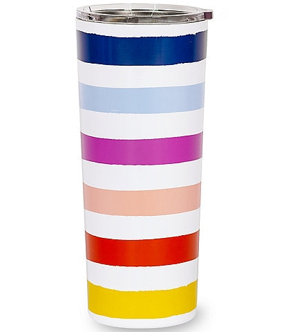 kate spade new york Candy Stripe Stainless Steel Tumbler