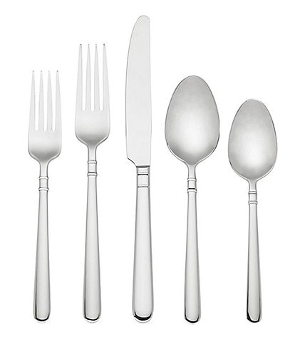 kate spade new york Carlton Street 45-Piece Stainless Steel Flatware Set