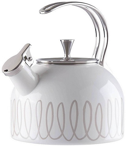 kate spade new york Charlotte Street Enameled Steel Tea Kettle