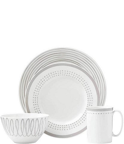 kate spade new york Charlotte Street Porcelain 4-Piece Place Setting