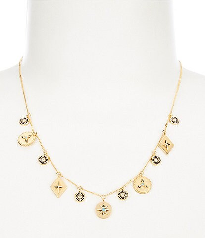 kate spade new york Charm Necklace