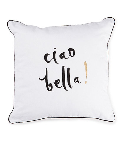 kate spade new york Ciao Bella Square Pillow