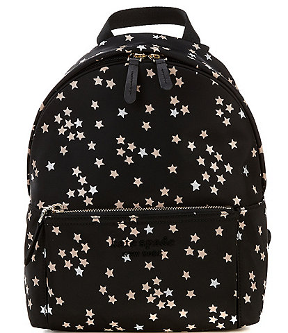 kate spade new york City Pack Nylon Confetti Stars Medium Backpack