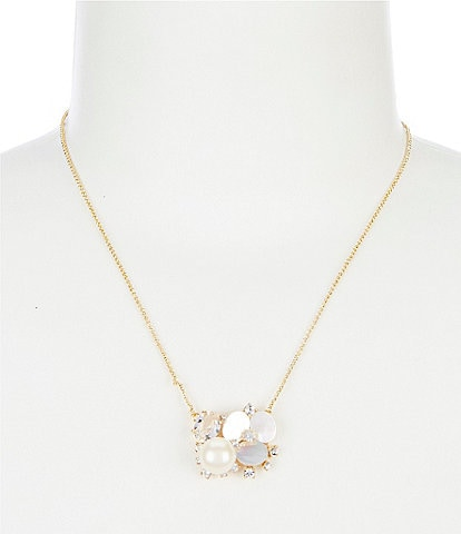 kate spade new york Cluster Pendant Necklace