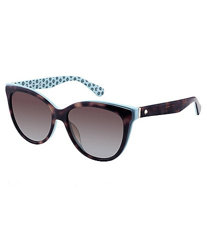 kate spade new york Daesha Polarized Square Cat Eye Sunglasses