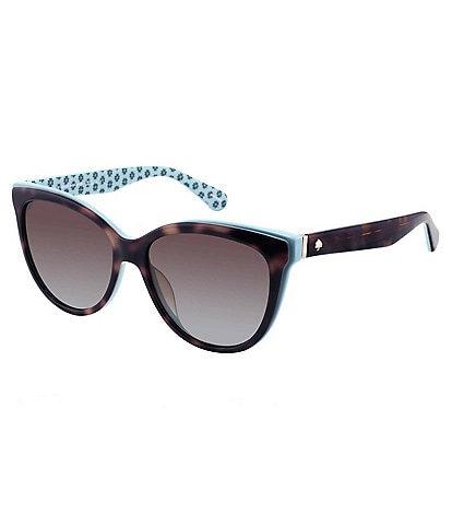 kate spade new york Daesha Polarized Square Cat Eye Sunglasses