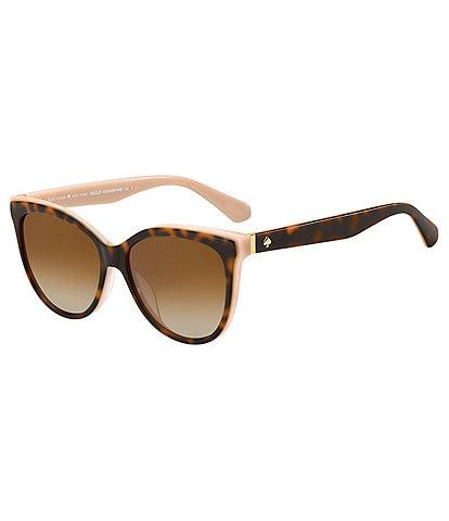 kate spade new york Daesha Polarized Squared Cat Eye Sunglasses