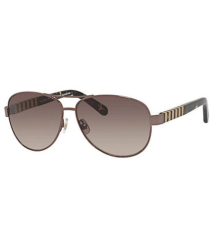 kate spade new york Dalia Aviator Sunglasses