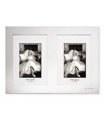 kate spade new york Darling Point Double Wedding Invitation/Photo Frame