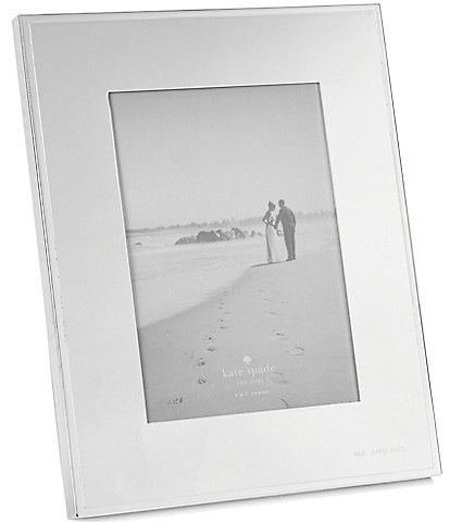 kate spade new york Darling Point Mr. & Mrs. Wedding Picture Frame