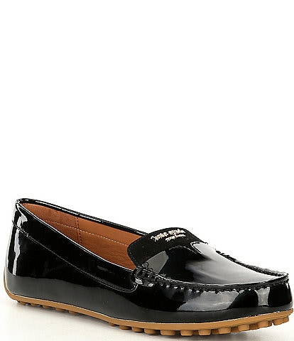 kate spade new york Deck Patent Leather Slip-On Drivers