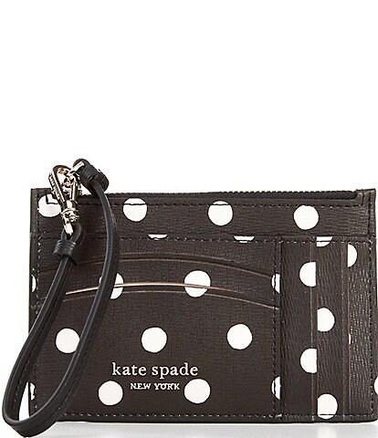 kate spade new york Spencer Dots Card Case Wristlet