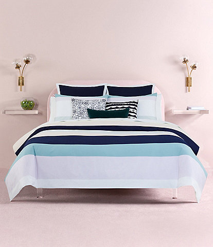kate spade new york Dusk Stripe Comforter Mini Set