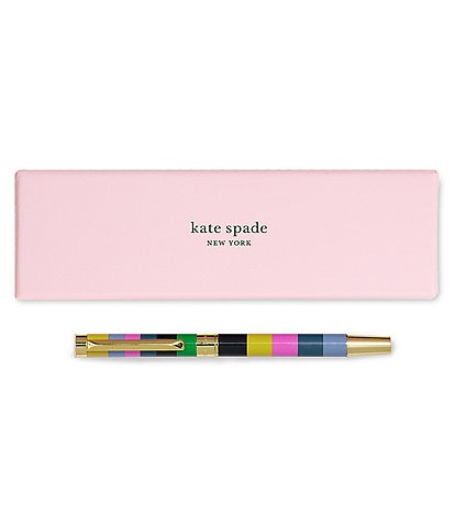 kate spade new york Enchanted Stripe Ballpoint Pen