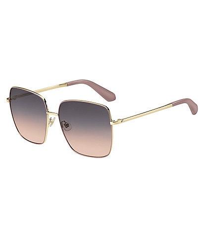 kate spade new york Fenton Square Metal Sunglasses