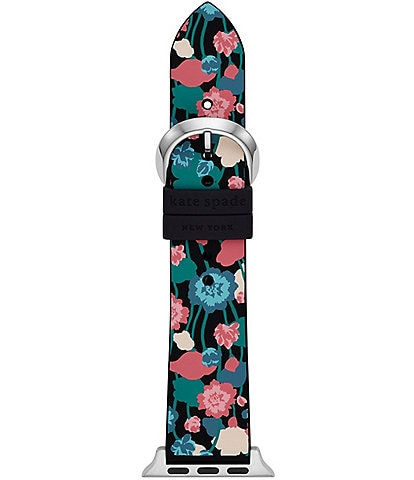kate spade new york Floral Silicone 38/40mm Band for Apple Watch®
