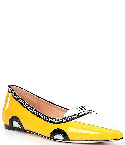 kate spade new york Gogo Taxi Patent Leather Flats