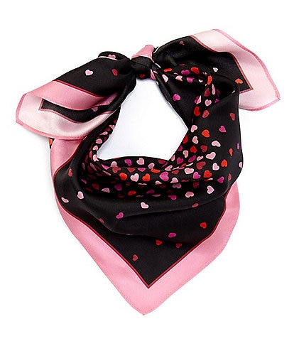 kate spade new york Heart Party Bandana Scarf