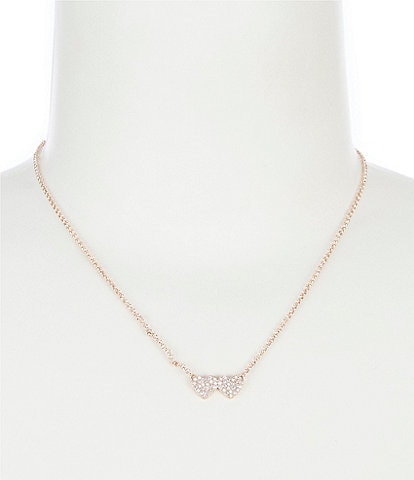 kate spade new york Heart Pave Pendant Necklace
