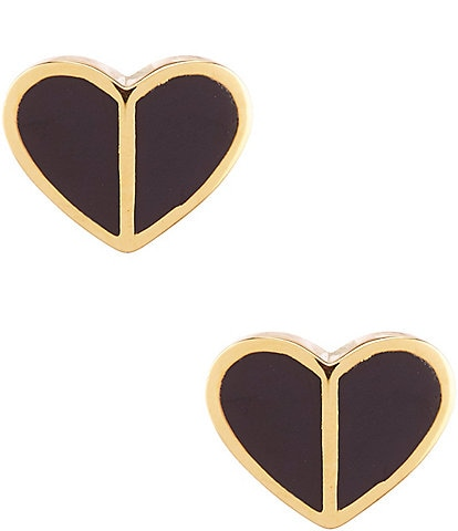 kate spade new york Heritage Spade Small Heart Stud Earrings