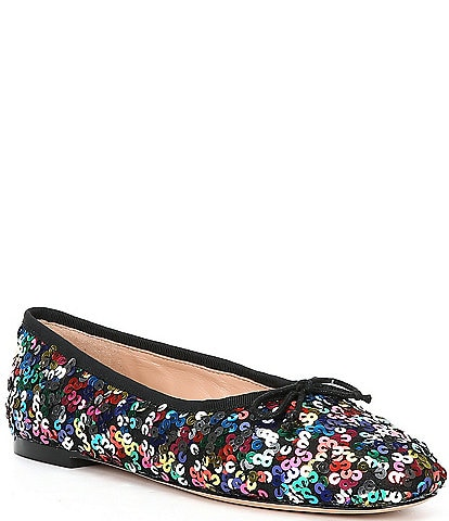 kate spade new york Honey Multicolor Sequin Flats