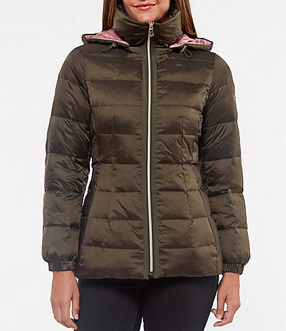 kate spade new york Hooded Puffer Parka
