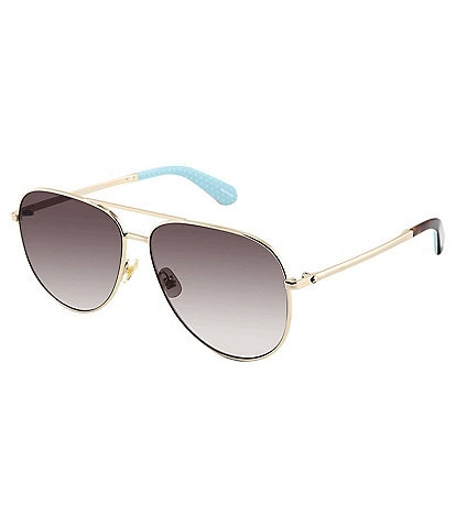 kate spade new york Isla Aviator Sunglasses