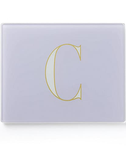 kate spade new york Its Personal Glass Initial Prep Boards