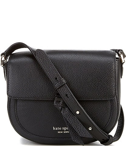 kate spade new york Knott Medium Saddle Crossbody Bag