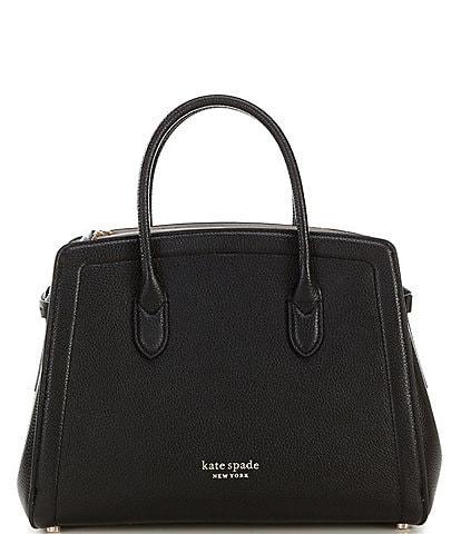 kate spade new york Knott Pebble Leather Satchel Bag